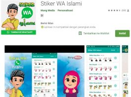 download stiker wa islami